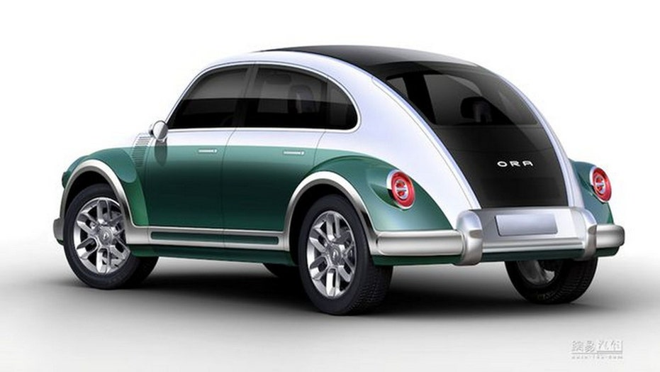 VW Beetle rebooted as Punk Cat electric car