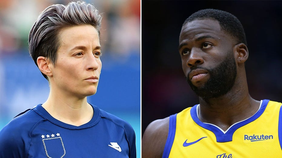 Megan Rapinoe hits back at Warriors' Draymond Green for 'not even understanding' equal-pay fight