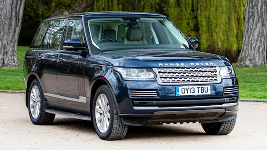 Prince William and Kate Middleton's royal Range Rover up for auction