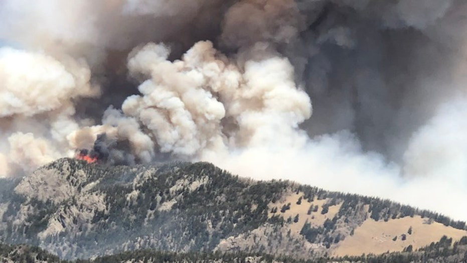 New Mexico Three Rivers Fire grows rapidly overnight