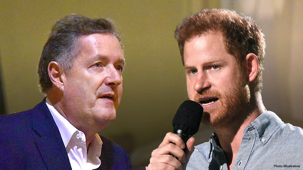 Piers Morgan rips Harry's 'psychobabble' criticism of the First Amendment