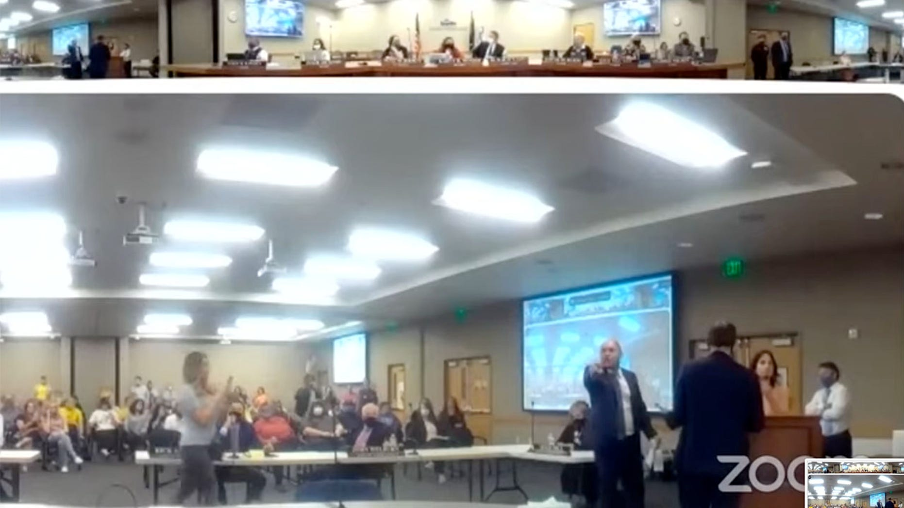 Anti-Mask Protesters in Utah Who Derailed a School Board Meeting May Face Charges
