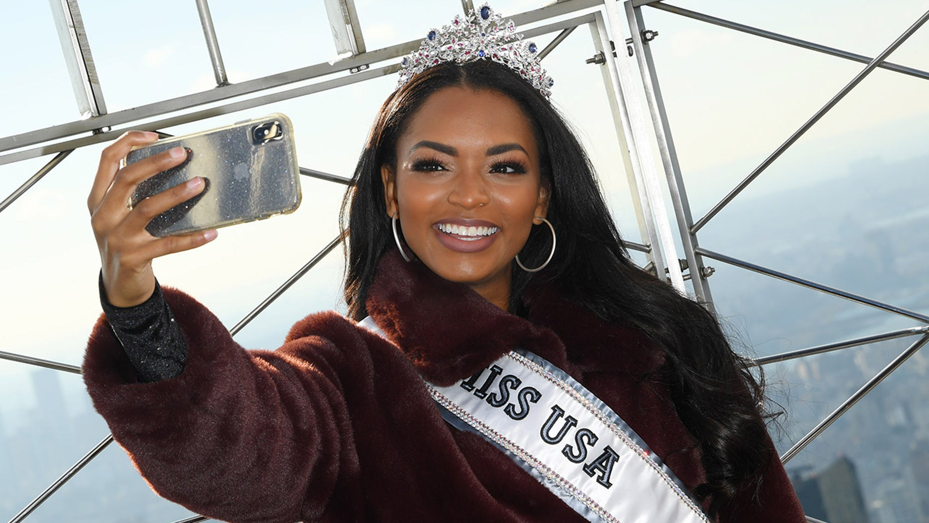 Miss USA Asya Branch on representing the US at Miss Universe: 'I'm proud to be a part of the greatest nation'