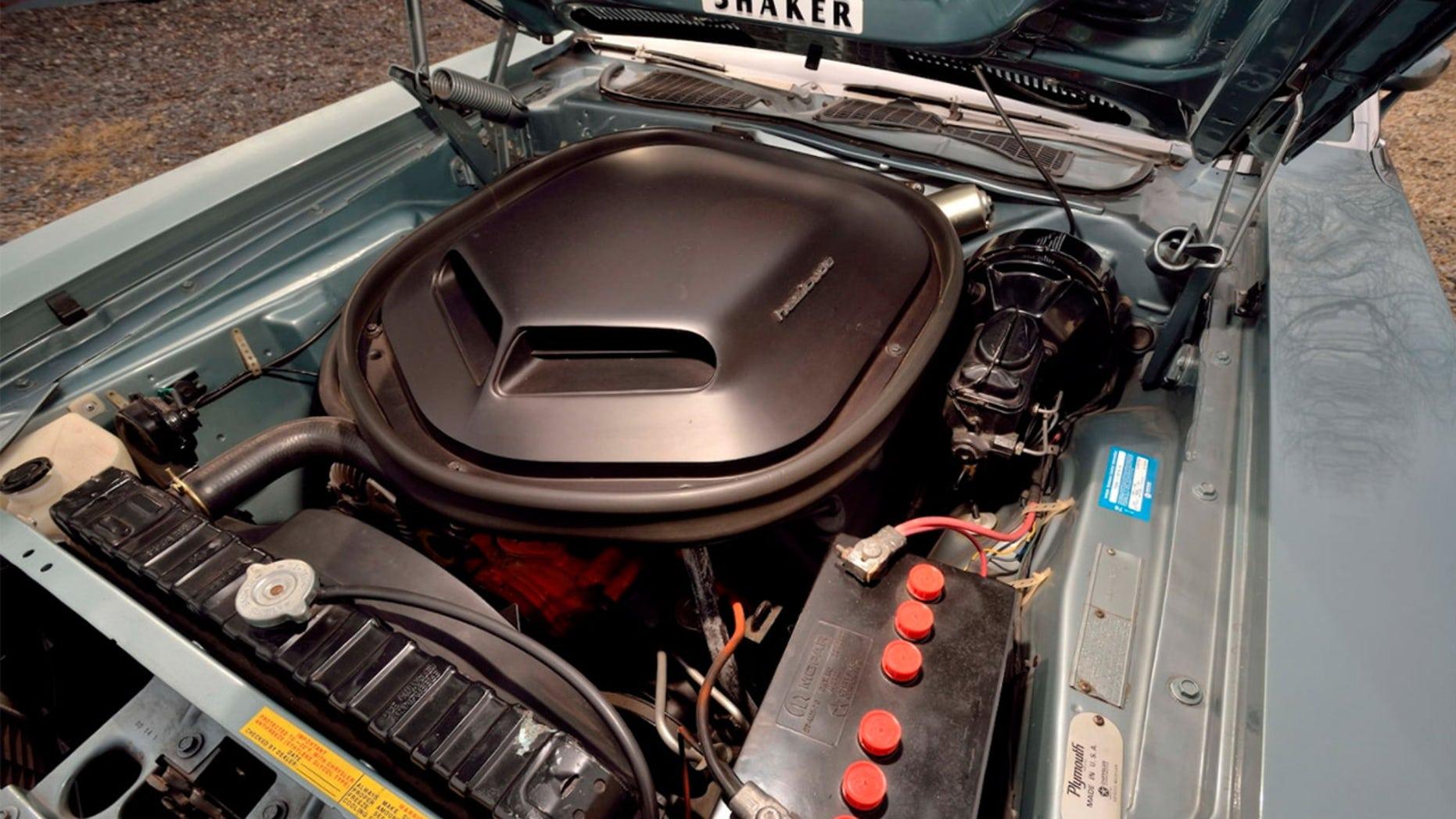 Ultra-rare 1971 Plymouth Cuda