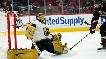 Golden Knights beat Coyotes 3-2 in OT after blowing lead