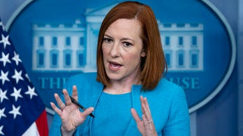 Psaki denies Israeli defense overreacted, says 'no justification' for 1,500+ rockets from Hamas
