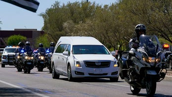 Police procession honors fallen Arizona police officer