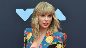 Taylor Swift honored at BRIT Awards with global icon award