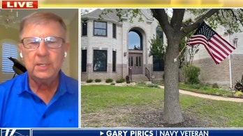 Texas HOA says veteran's American flag flying from tree violates violates state, US codes