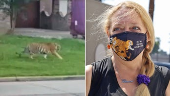Carole Baskin offering $5,000 reward for info leading to missing tiger in Texas