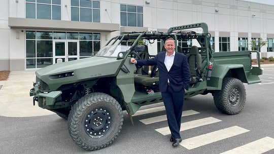 GM Defense unveils electric Infantry Squad Vehicle for U.S. Army
