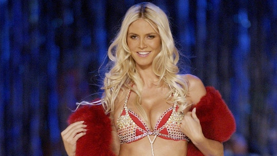 Heidi Klum says she was pregnant with daughter Leni during the 2003 Victoria's Secret Fashion Show