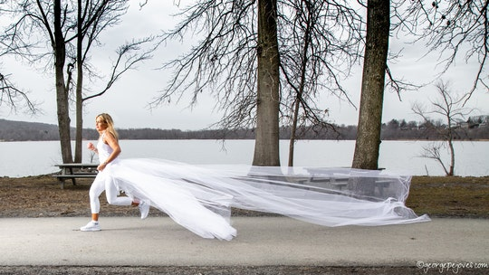Woman plans 285-mile run in her wedding dress to raise awareness for narcissistic abuse