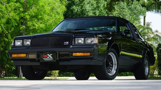 Rare 1987 Buick GNX muscle car driven just 262 miles sold for $205,000