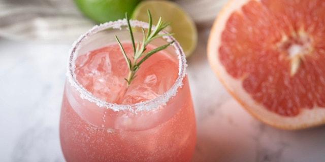 Paloma cocktail. (Courtesy of Homemade Delish).