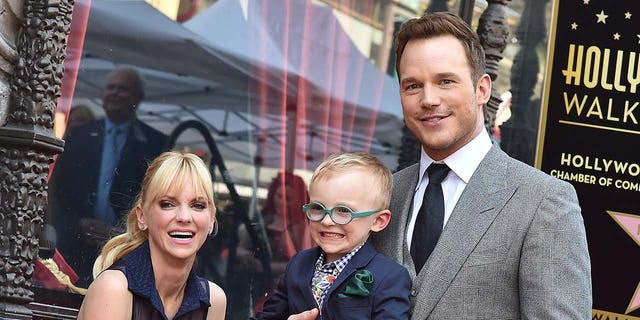 Chris Pratt and Anna Faris share their 8-year-old son Jack (Photo by Axelle / Bauer-Griffin / FilmMagic).