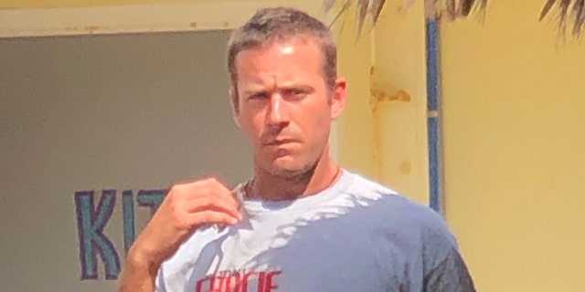 Armie Hammer was seen out-and-about in the Cayman Islands recently, the first time he has been spotted publicly since he was accused of rape in April.