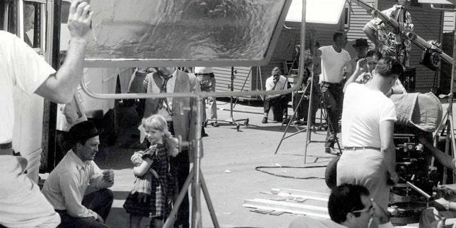 Beverly Washburn befriended numerous old Hollywood stars on set.