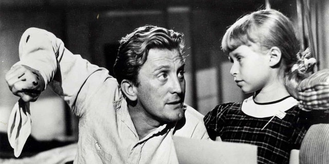 Beverly Washburn and Kirk Douglas worked together in 1953's 'The Juggler.'