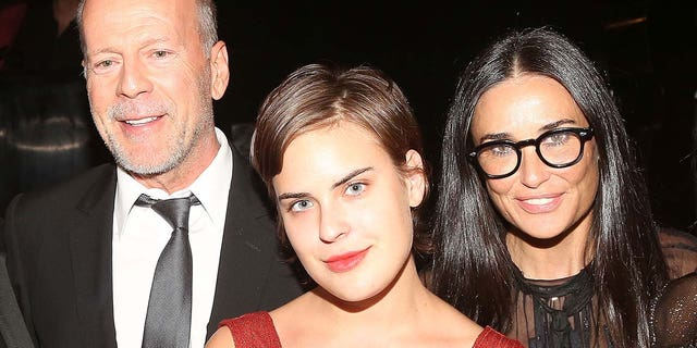 Tallulah Willis is the daughter of actors Bruce Willis and Demi Moore (Photo by Bruce Glikas / FilmMagic).