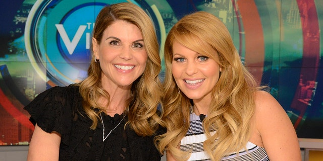 Candace Cameron Bure still talks to Lori Loughlin following prison stint for the college admissions scandal.jpg