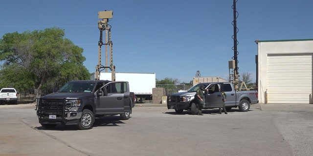 Two new truck-mounted roaming cameras will help agents see clearer 24/7 wherever they go. The cameras can move in any direction and are equipped with night vision. (Stephanie Bennett/Fox News)