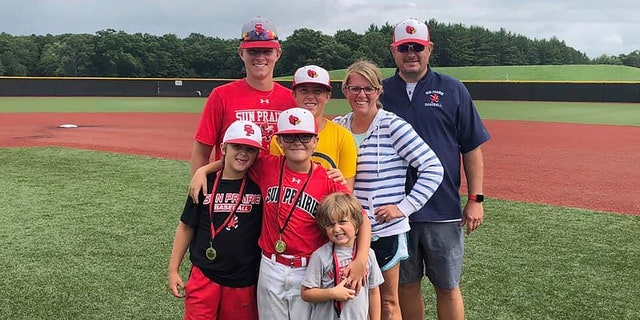 The Perrys' oldest son, 17-year-old Cooper, has been battling leukemia and the family hopes vaccinating 12-year-old Tucker and 15-year-old Reece will bolster protection for him.