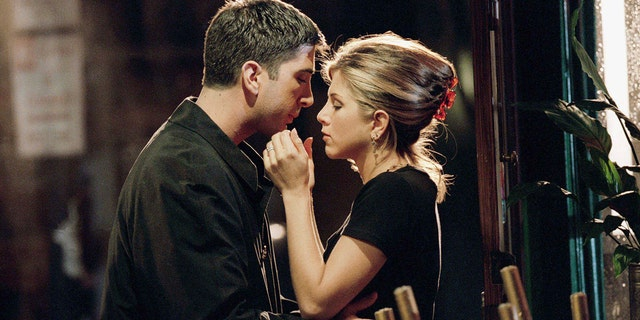 David Schwimmer and Jennifer Aniston revealed they had a real-life crush on each other in the early days of 'Friends.'