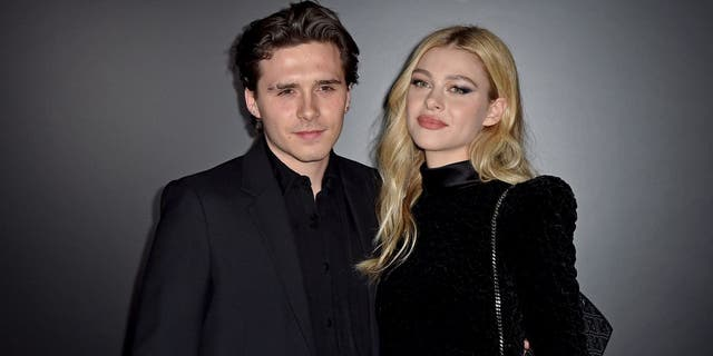 Brooklyn Beckham and Nicola Peltz got engaged in July 2020. The pair had been dating since fall 2019. (Dominique Charriau/WireImage)