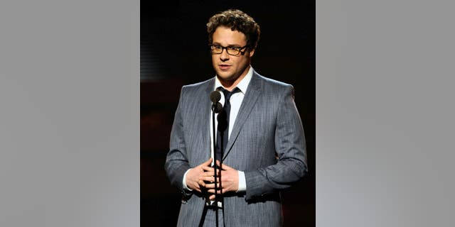 Comedian and actor Seth Rogen was an onstage presenter during The 53rd Annual GRAMMY Awards, which took place at the Staples Center on February 13, 2011 in Los Angeles, California. (Michael Caulfield/WireImage)