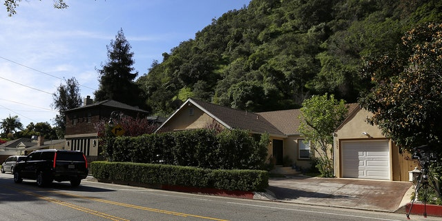Robert Durst, wealthy NY real estate heir, was arrested in connection with the murder of his friend Susan Berman. The crime allegedly was commited by Durst inside this home in Beverly Hills in 2000. (Francine Orr/ Los Angeles Times via Getty Images)