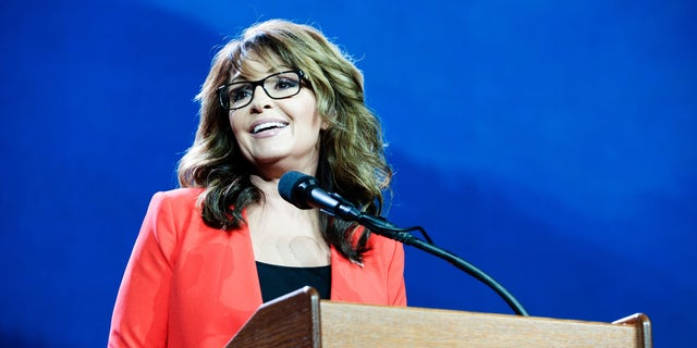 Sarah Palin, a former Alaska governor and the Republican Party's 2008 vice presidential nominee. (Getty Images)