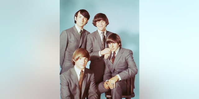 Popular TV actors and pop singers The Monkees, circa 1965. Clockwise from top left: Michael Nesmith, Micky Dolenz, Davy Jones and Peter Tork.