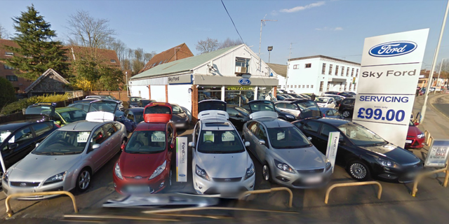 Hartwell Ford is a franchised car dealership that has multiple locations throughout the U.K. The Watford branch is based in an English town that's northwest of London. (Google Maps)