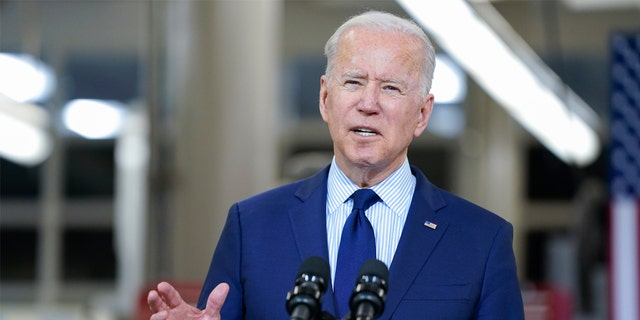 President Joe Biden delivers remarks on the economy at the Cuyahoga Community College metro campus on Thursday, May 27, 2021, in Cleveland.  Biden will be in Tulsa, Oklahoma on Tuesday, the site of one of the worst racial massacres in American history.