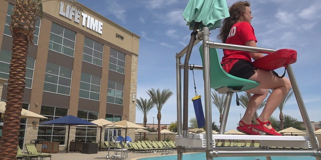 Life Time is one of the largest employers of aquatic professionals with approximately 3,000-4,000 lifeguards nationwide at 110 of their health clubs. They're based throughout the U.S. with a few locations in Canada (Stephanie Bennett/Fox News).