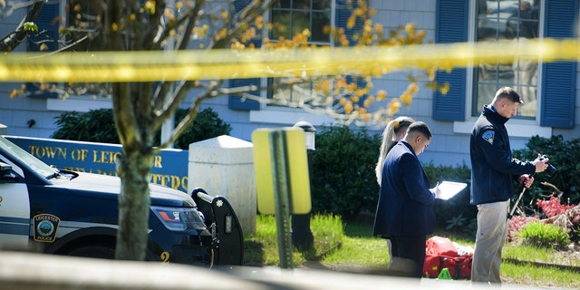 The suspect, whose identity was not immediately provided, died at the hospital.