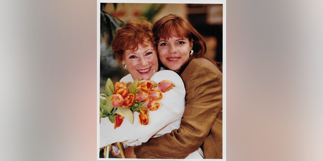 Marion Ross and her daughter.