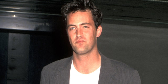 At the height of his fame, Matthew Perry began to struggle with addictions to drugs and alcohol. (Photo by Ron Galella, Ltd./Ron Galella Collection via Getty Images)