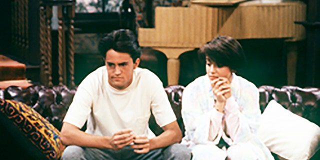 Matthew Perry and Alyssa Milano in a 1990 episode of 'Who's the Boss?' (Photo by Bob D'Amico/Walt Disney Television via Getty Images)