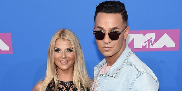 The couple announced they were expecting in November 2020, about a year after Lauren Pesce suffered a miscarriage. (Getty Images)