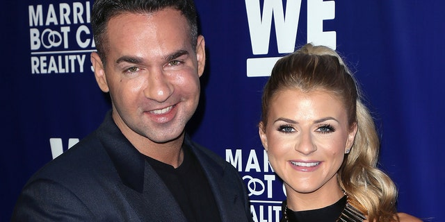 Mike 'The Situation' Sorrentino and Lauren Pesce welcomed a son together. (ゲッティイメージズ)