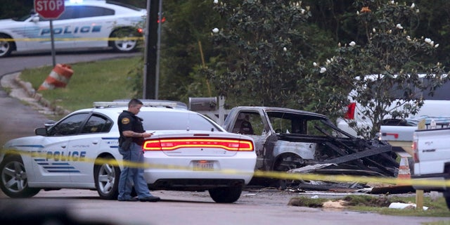 Emergency officials in Mississippi say four people were killed when the small plane crashed into a home. (AP/The Advocate)