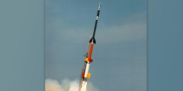 موشک چهار مرحله ای Black Brant XII.