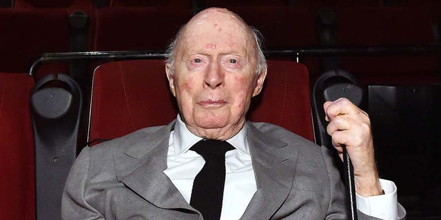 Norman Lloyd, actor, director and producer, has died at the age of 106. (Photo by Stefanie Keenan/Getty Images for TCM)