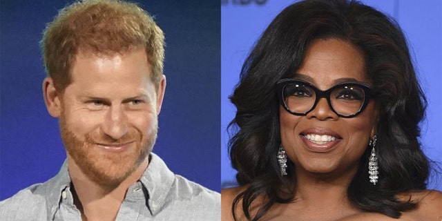 Prince Harry and Oprah Winfrey collaborated on the Apple TV+ mental-health series 'The Me You Can't See.'