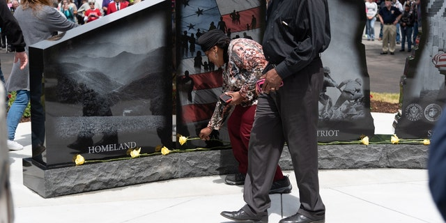 The Hershel Woody Williams Medal of Honor Foundation Gold Star Families Memorial in Elkin, North Carolina (Credit; Robert Luffman)