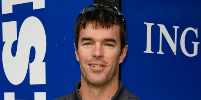 Ryan Sutter works as a firefighter near Vail. Colo. (Photo by Andy Kropa/Getty Images)