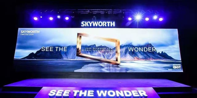 Skyworth also sells TV models in the U.S. market and was a major presence at CES 2020.