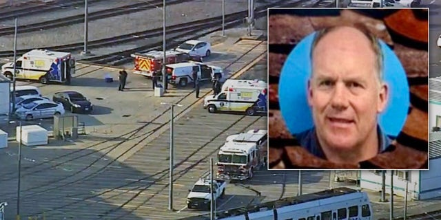 Gunman Sam Cassidy (inset) killed nine co-workers and then himself on May 26 at a transit agency railyard in San Jose, California, authorities have said.